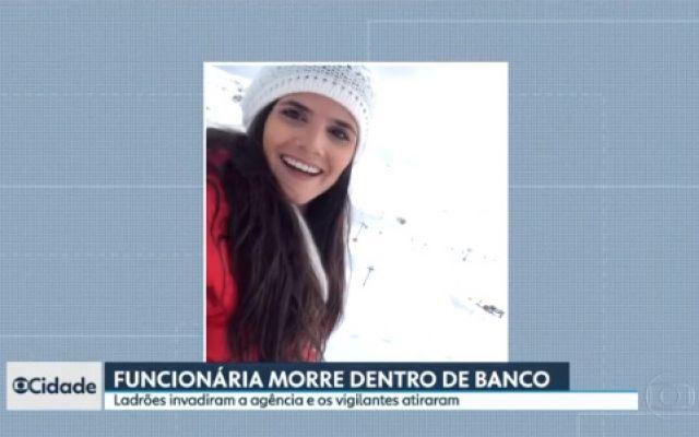 Bancária morre baleada em tentativa de assalto a agência na Grande SP