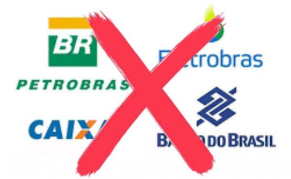 Cinco maiores estatais, como Petrobras e Banco do Brasil e Caixa, cortam 111 mil empregados