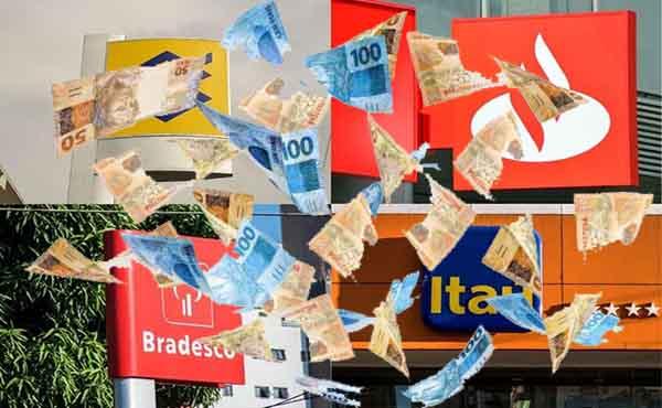 Lucro de BB, Bradesco, Santander e Itaú sobe 63,6%, para R$ 22 bi, no 2º trimestre