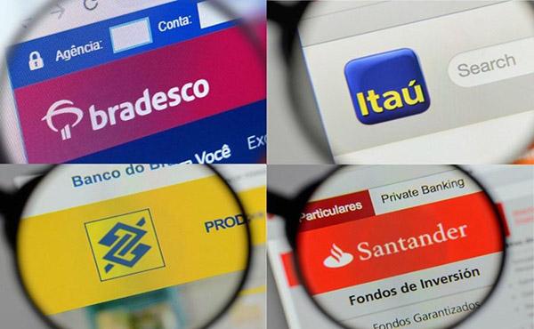 Itaú, Bradesco, BB e Santander mostram força na crise com números do 2º tri