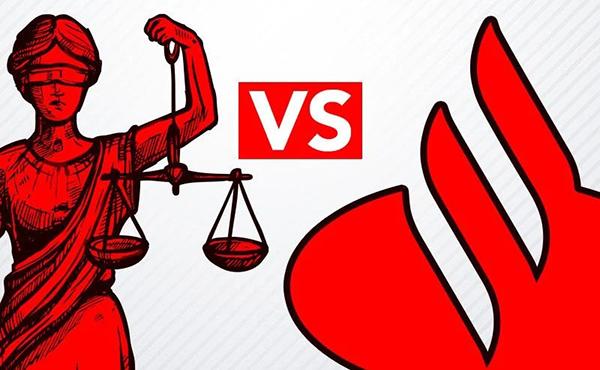 Santander corta salários e afronta judiciário brasileiro