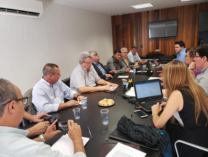 Negociação com o Santander