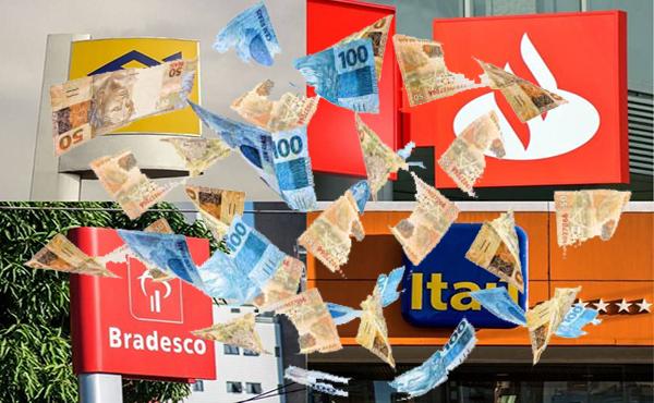 Bradesco, Itaú, Santander e BB têm forte alta dos lucros no 1º trimestre: qual banco se destacou mais?