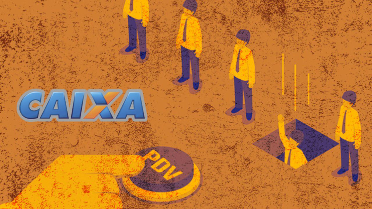 Caixa Econômica abre PDV para 7,2 mil funcionários