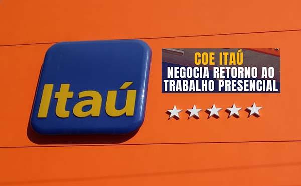 C0E Itaú–Contec discute nesta 4ª feira volta ao trabalho presencial