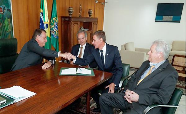 """Em reunião com diretores do BB, Brandão cobra projetos concretos. """"Acabou o Migué!"""""""