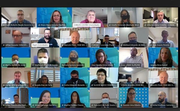 Reunião da Contec com a Caixa discute PLR Social, pandemia, metas abusivas e outros assuntos