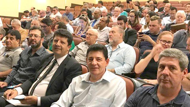 Gladir participa do lançamento do Fórum Estadual em defesa da Liberdade Sindical