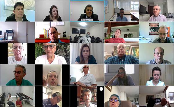 Dirigentes sindicais debatem sobre a covid-19 com a Fenaban
