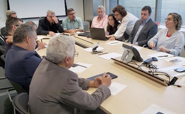 Reunião da Contec com Santander discute vários assuntos de interesse dos funcionários