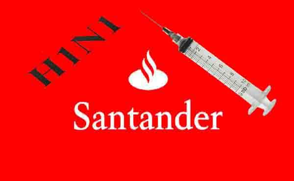 Santander também inicia vacinação contra a gripe na segunda 19