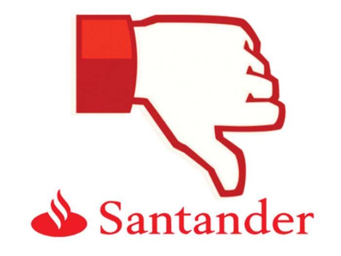 Santander é campeão de reclamações ao BC