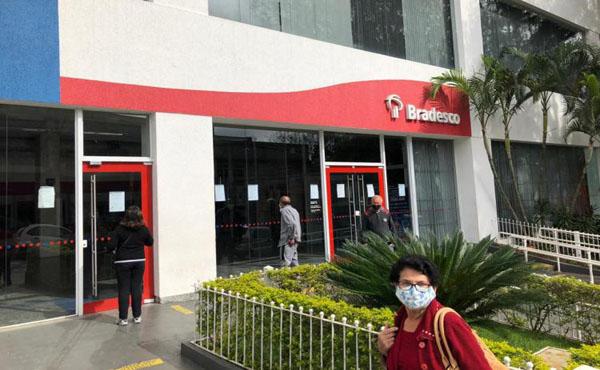Agências do Bradesco são interditadas em São Paulo por Covid-19