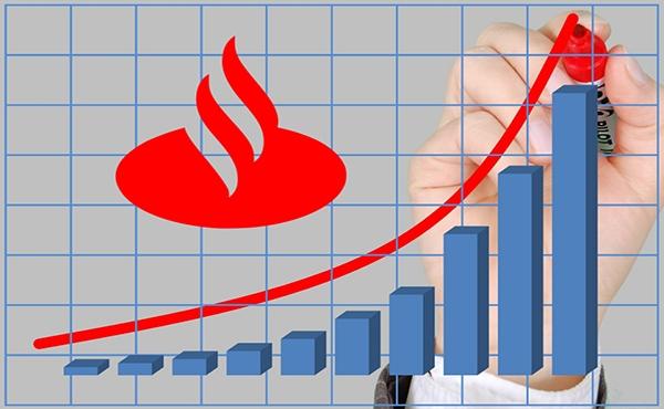 """Santander tem recuperação em """"V"""" e lucro sobe para R$ 3,9 bilhões no trimestre"""