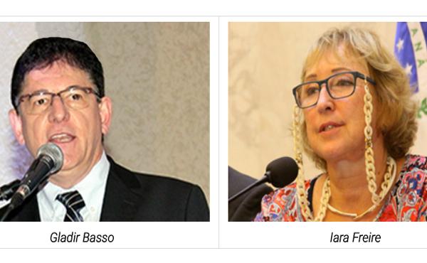 Gladir Basso e Iara Freire participam de reuniões nacionais da UGT