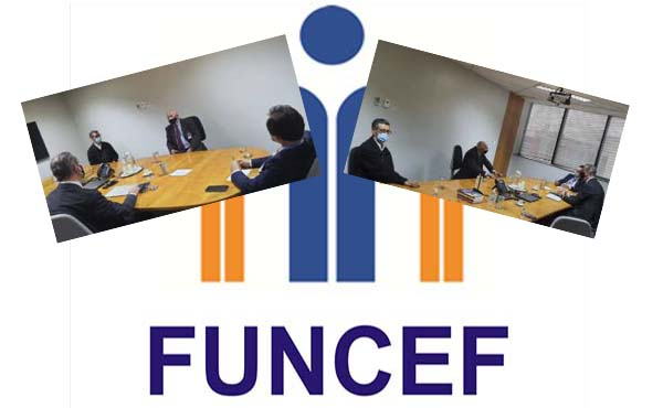 FENESPIC E CONTEC se reúnem com Diretores da FUNCEF