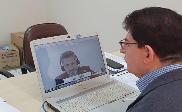 PANDEMIA E CAMPANHA SALARIAL: Federação do Paraná e sindicatos filiados reúnem-se com negociador da Fenaban