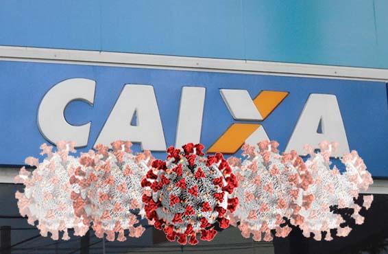70% dos bancários da Caixa trabalham expostos diretamente à Covid-19