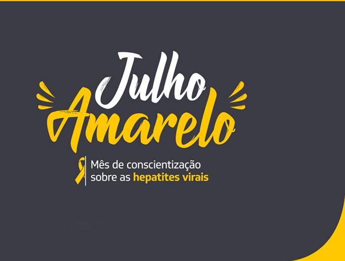 Julho Amarelo quer conscientizar as pessoas sobre hepatites virais