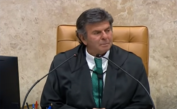 Fux, presidente do STF, vota contra gratuidade da Justiça a trabalhadores
