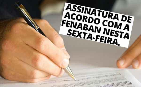 Contec e Fenaban assinam hoje a Convenção Coletiva de Trabalho 2020/2022