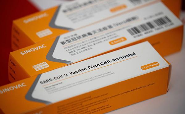Distribuição por estado da vacina CoronaVac no Brasil