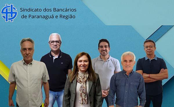 Sindicato dos Bancários de Paranaguá tem a 1ª eleição Virtual e chapa é eleita com 98% dos votos
