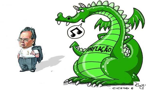 Governo altera previsões e admite que inflação vai subir ainda mais