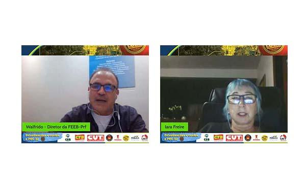 UGT-PR realiza live sobre a PEC 32