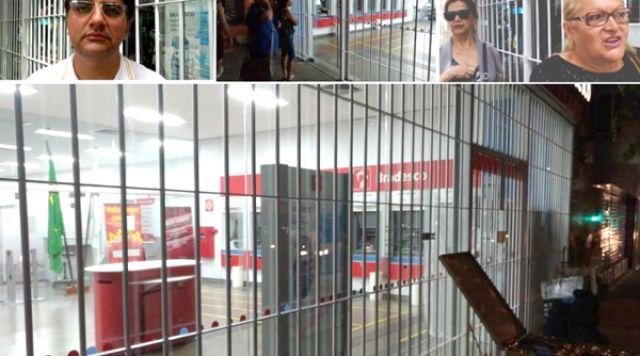 Bradesco deixa clientes, sem lenço, sem documento e sem dinheiro em Divinópolis