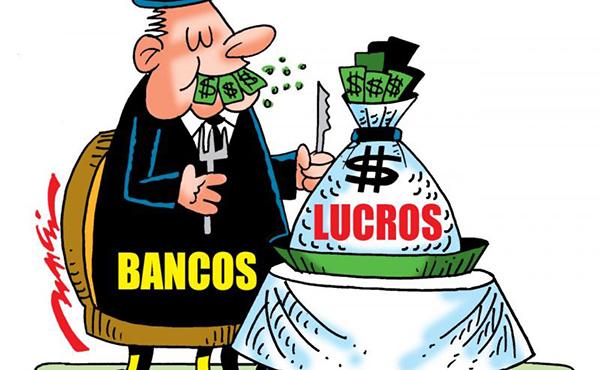 Lucro dos 4 maiores bancos sobe 90% em um ano e é o 3º maior da história